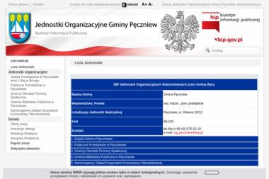 Samorządowy Zakład Gospodarki Komunalnej i Mieszkaniowej w Pęczniewie - Transport Gruzu Pęczniew