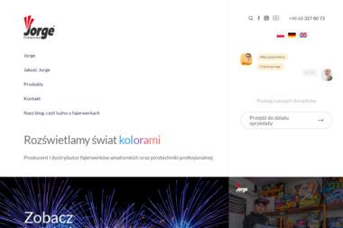 JORGE SP. Z O.O. - Pirotechnika Czerwieńsk