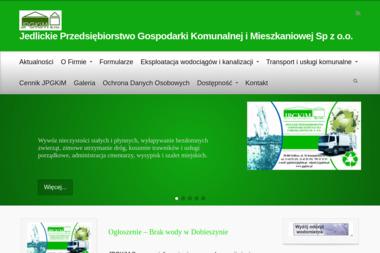 Jedlickie Przedsiębiorstwo Gospodarki Komunalnej i Mieszkaniowej Sp. z o.o. - Wywóz Ziemi Jedlicze