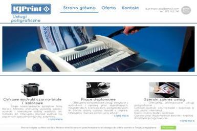 Kjprint Usługi Poligraficzne - Usługi Poligraficzne Nowy Sącz