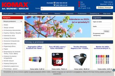 Firma Handlowa KOMAX 9 - Drukowanie Olsztyn