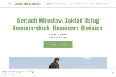 Zakład Usług Kominiarskich Mirosław Gerlach - Przegląd Kominiarski Oleśnica