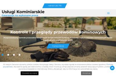 Zakład Usług Kominiarskich Konrad Małmyga - Kominiarz Piaseczno