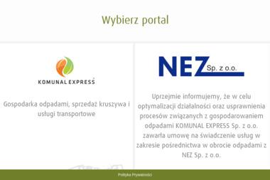 FUK Komunal Express. Edmund Jednac - Utylizacja Gruzu Jankowo Gdańskie