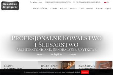 Lusarz Jan Kowalstwo Artystyczne Przedsiębiorstwo Usługowo Produkcyjno Handlowe - Kowale Bednarka
