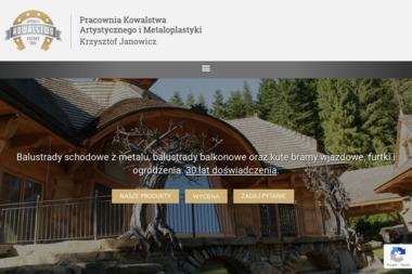 PRACOWNIA KOWALSTWA Krzysztof Janowicz - Przęsła Metalowe Konarzewo