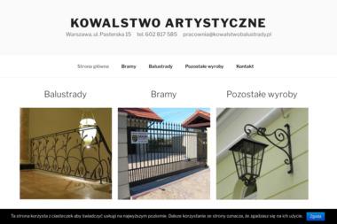 Pracownia Rzemiosła Artystycznego - Kowalstwo - Usługi Kowalskie Warszawa