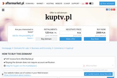Kuptv.pl - Ekspresy do Kawy Kraków