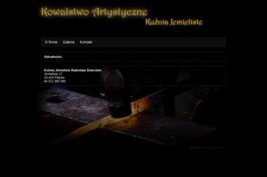 Kuźnia Jemieliste Radosław Świerzbin. Kowalstwo artystyczne, metaloplastyka - Obróbka metali Jemieliste