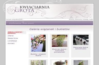 Kwiaciarnia Grota Joanna Katarzyna Neczaj - Giełda rolnicza Szczecin