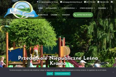 Niepubliczne Przedszkole Leśna Kraina - Przedszkole Warszawa
