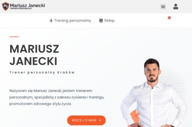 Mariusz Janecki Trener Personalny - Trener biegania Chabielice-Kolonia
