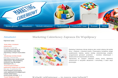 Marketing Cukierkowy - Cukiernia Dąbrówka