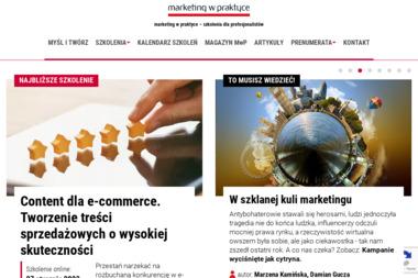 Marketing w Praktyce Media i Szkolenia Zdzisław Kraśnicki - Kurs marketingu Warszawa