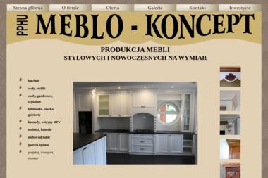 PPHU Meblo-Koncept Robert Dukowski. Meble na wymiar, produkcja mebli - Meble na wymiar Wierzbica