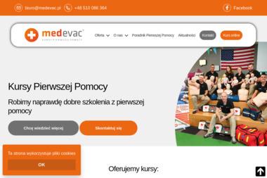 Medevac - Kurs pierwszej pomocy Poznań
