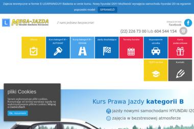 Ośrodek Szkolenia Kierowców Mega-jazda - Szkoła Jazdy Warszawa