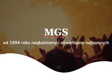 MG Service. Obsługa imprez, koncertów - Nagłośnienie, oświetlenie Kraków