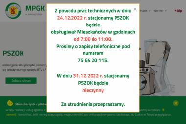 Miejskie Przedsiębiorstwo Gospodarki Komunalnej Sp. z o.o. - Wynajem Kontenera na Gruz Jelenia Góra