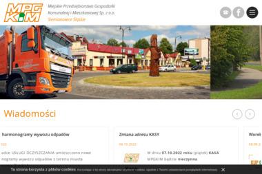 MPGKiM - Miejskie Przedsiębiorstwo Gospodarki Komunalnej i Mieszkaniowej Sp. z o.o. - Utylizacja Gruzu Siemianowice Śląskie