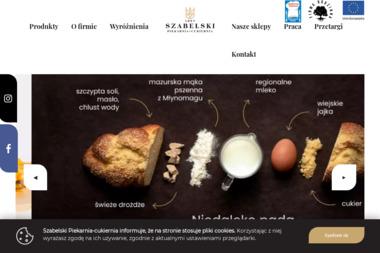 Piekarnia Cukiernia Marek Szabelski - Gastronomia Piecki