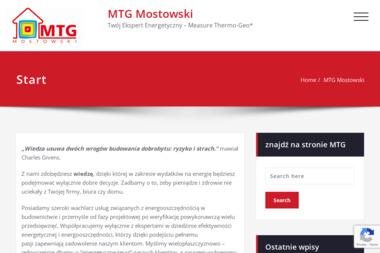 MTG Mostowski. Pomiar termowizyjny, pomiar kamerą termowizyjną - Termowizja Toszek
