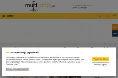 Multilampy. Joanna Wesołek - Sklep internetowy Częstochowa