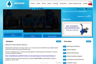 Miejski Zakład Gospodarki Komunalnej i Mieszkaniowej Sp. z o.o. - Wywóz Gruzu Limanowa