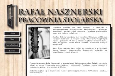 Pracownia Stolarska Rafał Nasznerski - Stolarstwo Strzegowo