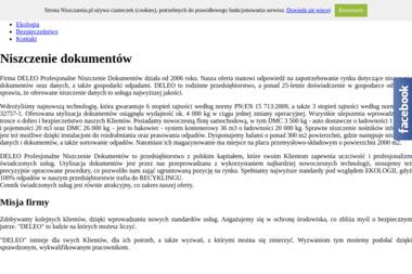 Deleo Profesjonalne Niszczenie Dokumentów - Wywóz Papy Bolesławiec