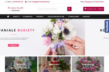 Kwiaciarnia No ładne kwiatki. Wiązanki, bukiety - Giełda rolnicza Szczecin