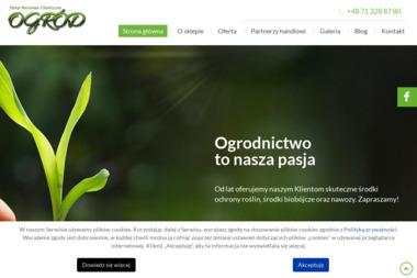Ogród. Sklep nasienno-chemiczny - Środki ochrony roślin Wrocław