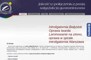 Introligatornia Białystok - Introligator Białystok