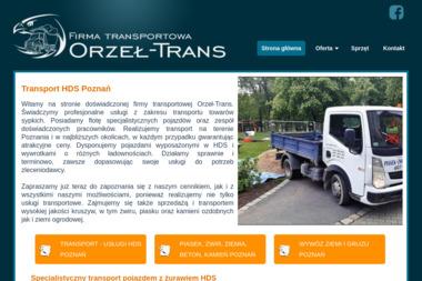 Orzeł-Trans,usługi HDS, wywóz gruzu i ziemi, żwir, ziemia itp. - Transport Gruzu Przeźmierowo