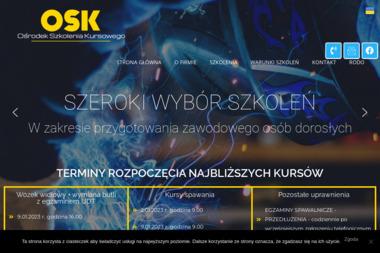 Ośrodek Szkolenia Kursowego - Uprawnienia na Wózki Widłowe Ostrów Wielkopolski