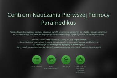 Centrum Nauczania Pierwszej Pomocy Paramedikus Filip Jaśkiewicz - Kpp Bełchatów