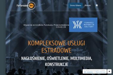 Michał Gruszkowski Performance Art Technika Sceniczna. Nagłośnienie, oświetlenie - Nagłośnienie, oświetlenie Dobczyce