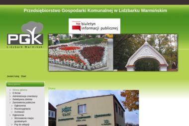 Przedsiębiorstwo Gospodarki Komunalnej Sp. z o.o. - Wywóz Gruzu Lidzbark Warmiński