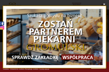 Gromulski Piekarnia Cukiernia Sławomir Gromulski - Firma Gastronomiczna Mińsk Mazowiecki