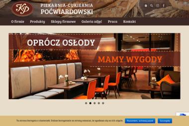 Piekarnia Cukiernia Krzysztof Po膰wiardowski - Gastronomia Bydgoszcz