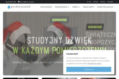 Polsound Sp. z o.o. - Nagłośnienie, oświetlenie Łomianki
