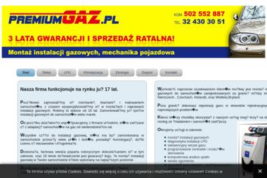PREMIUM GAZ - Montaż LPG Pogrzebień