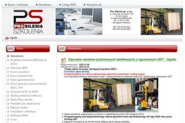Pro Silesia sp. z o.o. - Szkolenia Opole
