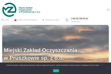 Miejski Zakład Oczyszczania Sp. z o.o. w Pruszkowie - Utylizacja Gruzu Pruszków