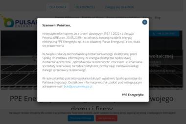 Pulsar Energia Sp. z o.o. - Zaopatrzenie w energię elektryczną Warszawa