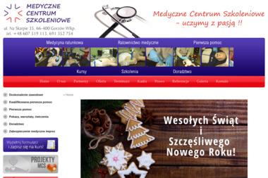 Medyczne Centrum Szkoleniowe kursy ratownictwa, kurs pierwszej pomocy - Usługi Szkoleniowe Gorzów Wielkopolski