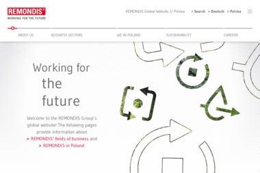 Remondis Sp. z o.o. Gospodarka odpadami, śmieci - Wywóz Gruzu Sochaczew