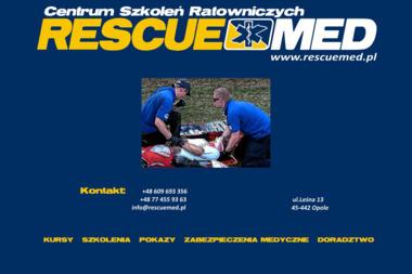 Centrum Szkoleń Ratowniczych Rescue-Med. - Szkolenia Opole