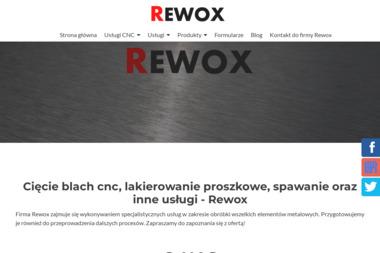 Rewox - Śrutowanie, piaskowanie, malowanie proszkowe - Czyszczenie przemysłowe Sosnowiec