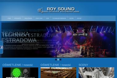 Roy Sound Technika Estradowa Rafał Szafrański - Nagłośnienie, oświetlenie Gorzów Wielkopolski